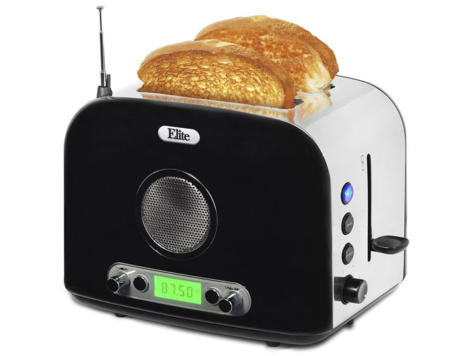 Elite ERT-6067 2-Slice Radio Toaster
