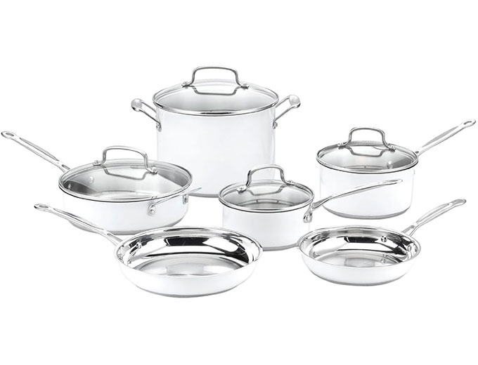 Cuisinart CSMW-10 10-Pc Cookware Set