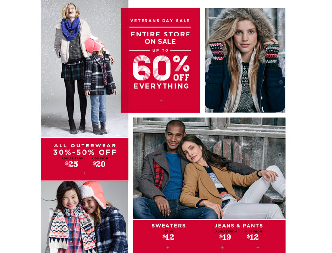 Save 60% off Your Purchase at Old Navy