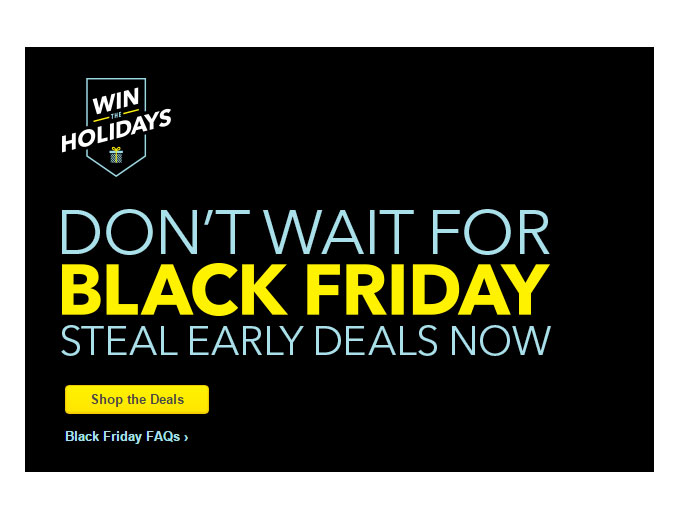 Best Buy Black Friday Early Deals
