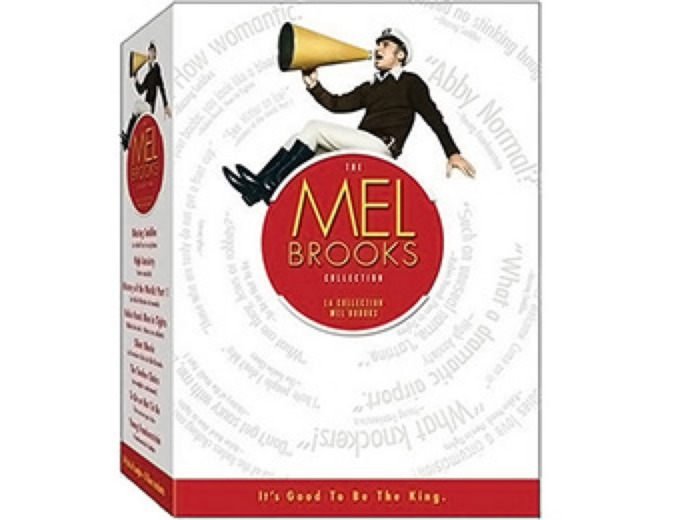 The Mel Brooks Film Collection DVD