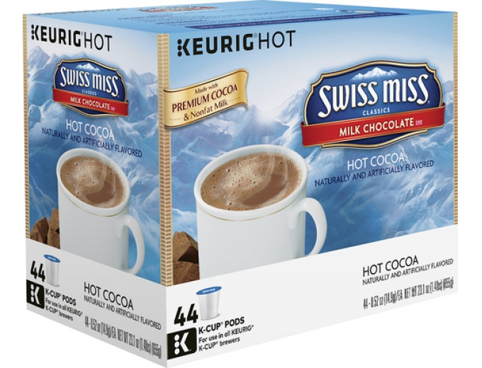 Swiss Miss Hot Cocoa K-cups (44-pack)