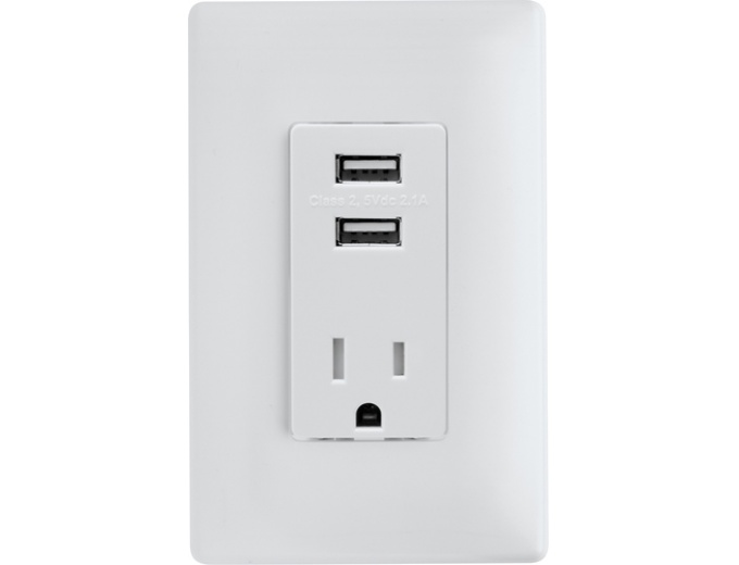 USB In-Wall Charging Outlet