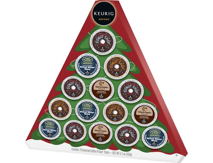 Keurig Coffee Holiday Gift Tree Box