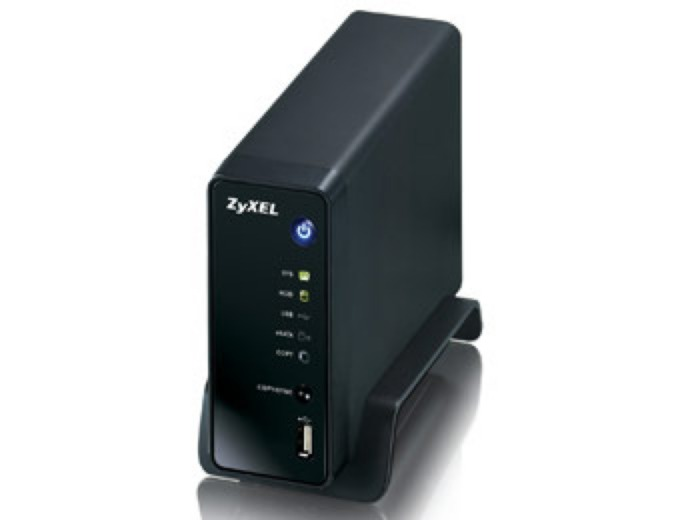 ZyXEL NSA310 1-Bay NAS and Media Server