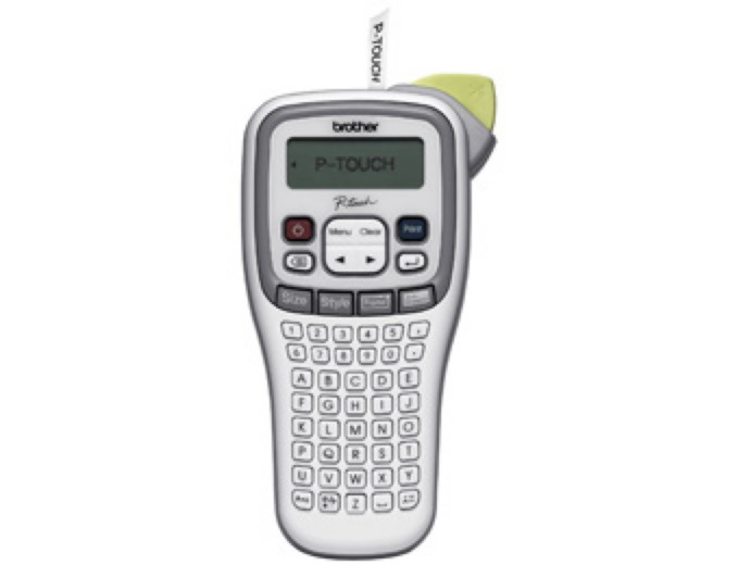 Brother Easy Handheld Label Maker PTH100