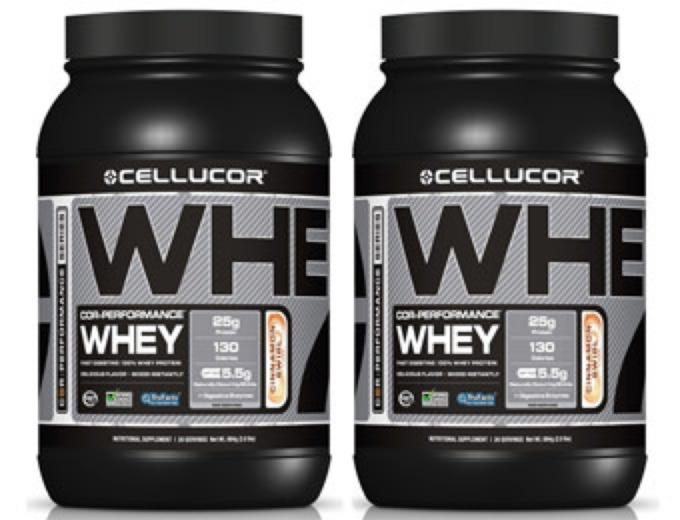 Deal: BOGO Cellucor COR-Performance Whey Protein