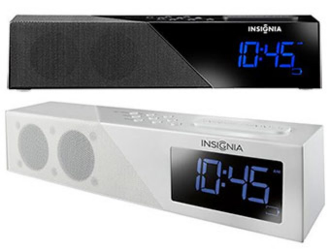Insignia Bluetooth Alarm Clock Radio