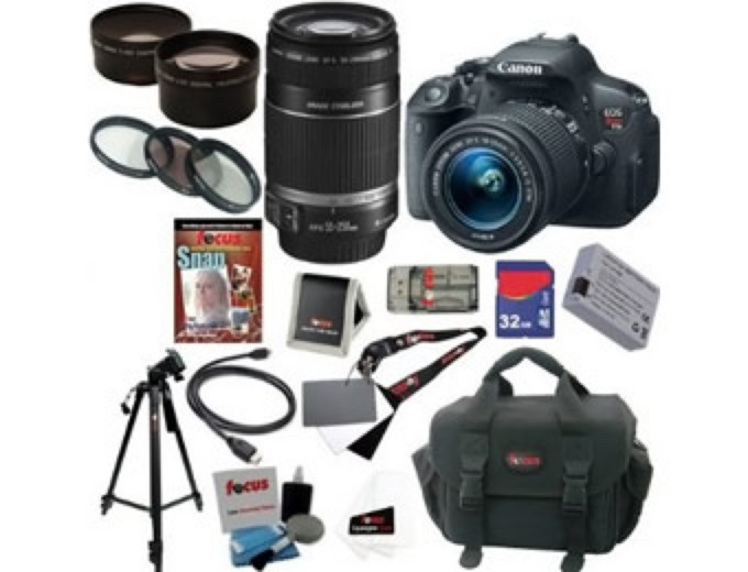Canon EOS Rebel T5i SLR Camera Kit