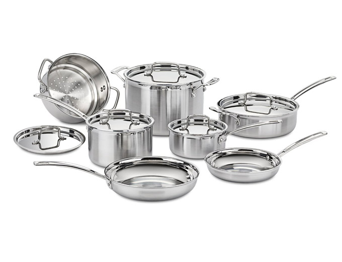 Cuisinart MCP-12N MultiClad Pro 12-Pc Cookware Set