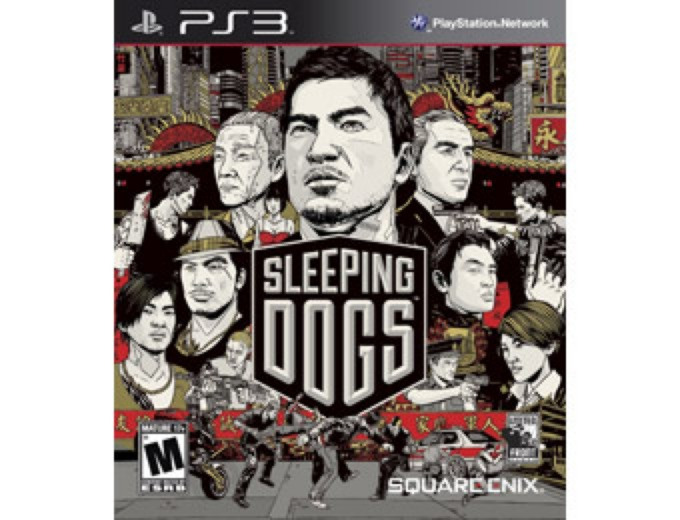 Deal: Used Sleeping Dogs Video Game (PS3) $10