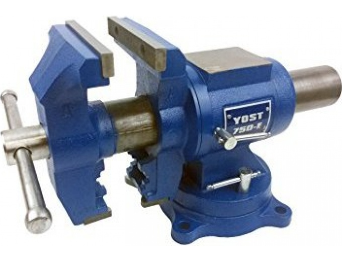 Yost 750-E Rotating Bench Vise