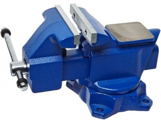 "Yost 4.5"" Combination Pipe and Bench Vise"