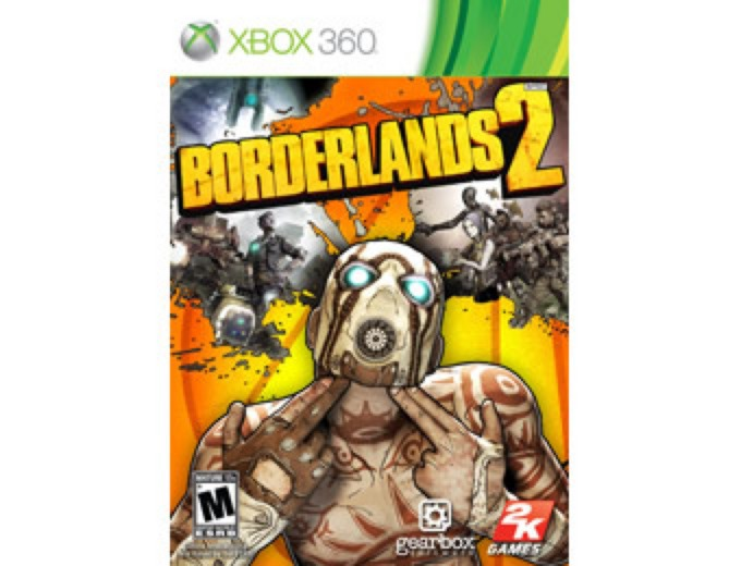 Used Borderlands 2 Xbox 360 + FS