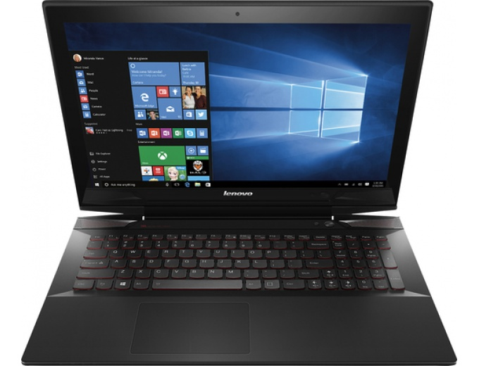 "Lenovo Y50 15.6"" Touch-Screen Laptop"