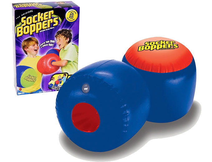Socker Boppers Inflatable Boxing Gloves