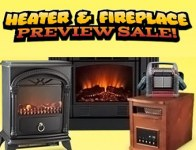 Heater & Fireplace Sale - Electric, Infrared and Propane Heaters