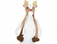 79% off Mixit Cold Weather Rudolph Hat