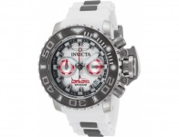 90% off Invicta 20473 Sea Hunter Chronograph White Silicone Watch
