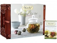 55% off Numi Organic Tea Flowering Gift Set, Handcrafted Bamboo Chest