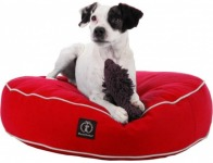 78% off Harry Barker Solid Round Dog Bed - Small