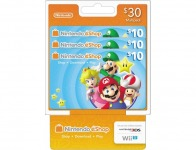 10% off Nintendo eShop $10 Prepaid Cards (3-Pack)
