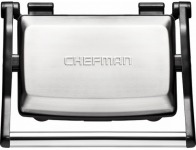 50% off Chefman Grill + Panini Press - Stainless Steel