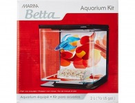 73% off Marina Betta Aquarium Starter Kit, Sun Swirl