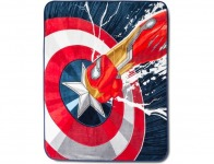 "54% off Marvel Captain America Throw 50""X60"" Multicolor"
