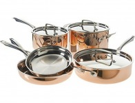50% off Cuisinart Tri-Ply Copper Cookware Set (8-Piece)