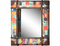 61% off Rio Multicolor Square Mirror