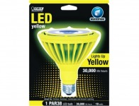 59% off Feit Yellow LED Reflector Bulb