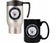 69% off U.S. Navy Travel and Coffee Mug Set