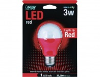 64% off Feit Red LED Performance Party Light Bulb (A19/R/LED)