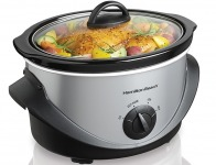 70% off Hamilton Beach 4 qt. Stainless Steel Slow Cooker