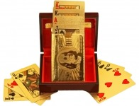 35% off 24 Carat 99.9% Gold-Plated Full Deck Playing Cards
