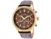 86% off Lucien Piccard Monte Viso Leather Men's Watch