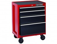 "$169 off Craftsman 26"" 4-Drawer Heavy Duty Rolling Tool Cabinet"