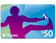 $7.50 off iTunes $50 Gift Card at Staples