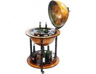 "$140 off 16th Century Italian Style Floor 20"" Globe Bar"