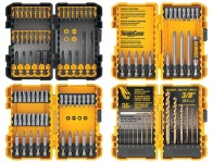 71% off DeWalt 100-Piece Impact Driver Bit Set, Model DWA4CASE2