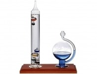55% off Ambient Weather Galileo Thermometer & Fluid Barometer