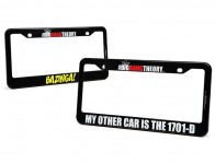 81% off Big Bang Theory Auto License Plate Frames, 2 Styles