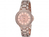 75% off Armitron Swarovski Crystal-Accented Rose Gold-Tone Watch