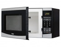 55% off Haier HMC725SESS 700W Compact Stainless Steel Microwave