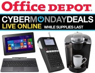 Office Depot Cyber Monday Deals - Live Online, While Supplies Last!
