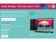 Dell Cyber Monday Deals - Up to 56% off Laptops & More