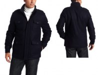 77% Off Dockers DM1RB824 4-Pocket Men's Wool Field Jacket