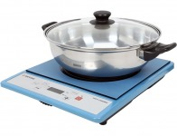 $85 off Tatung Portable Induction Cooktop with Stainless Steel Pot