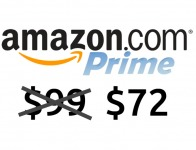 $27 off Amazon Prime Membership